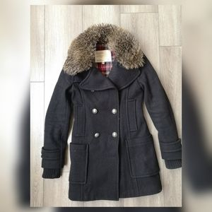 Aritzia Community wool cadet jacket.